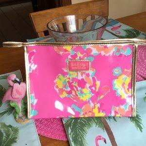 Lilly Pulitzer for Estée Lauder cosmetic bag